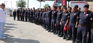 Mardin'de İtfaiye Personeline Sertifika
