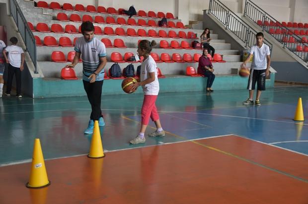 İpekyolu Belediyesinin yaz spor okullarına yoğun ilgi