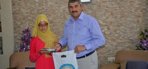 İlçeler Arası Kur'an-ı Kerim ve Meali yarışmasının Eskişehir il birincisi Günyüzü'nden çıktı
