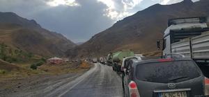 Van-Başkale karayolu ulaşıma kapandı