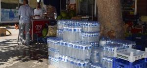 Kavurucu sıcaklıkların arttığı Malatya'da hazır suya yoğun talep