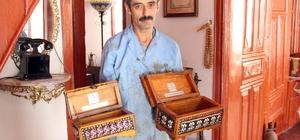 Yozgat'a özgü çeyiz ve takı sandıkları tarihi konaklarda üretiliyor