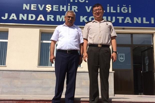 Başkan Karaaslan'dan İl Jandarma Alay Komutanı'na hayırlı olsun ziyareti
