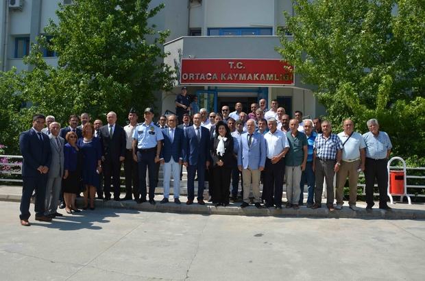 Vali Civelek, Köyceğiz, Ortaca ve Dalaman'ı ziyaret etti
