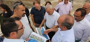 Tarihi Koyunbaba köprüsünün çevresi de taş duvar olacak