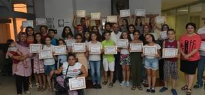 Çiğli'de sertifika heyecanı