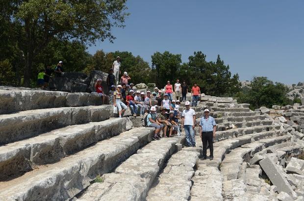 AKBEM öğrencileri Termessos Antik Kenti'ni gezdi