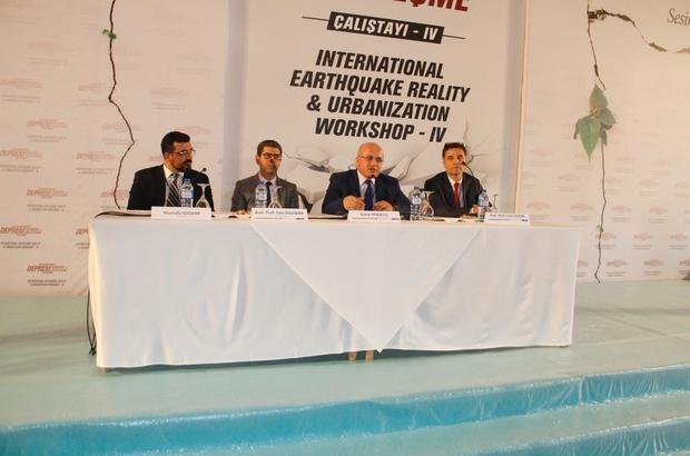 Kocaeli'de Uluslararası Deprem Gerçeği ve Kentleşme Çalıştayı başladı