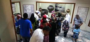 Malatya'da engelliler tarihi mekanları gezdi