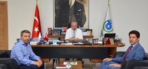 İl Milli Eğitim Müdürü Ulusan, Başkan Albayrak'tan bilgi aldı