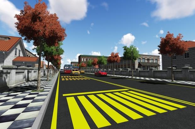 Veteriner Caddesi yeni çehresine kavuşuyor