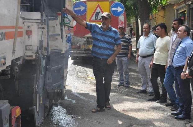 Siirt Belediyesi'nden asfalt çalışması