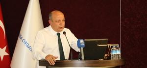 Firma temsilcilerine Gürle OSB Kent Projesi anlatıldı