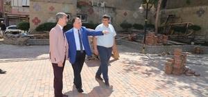 Başkan Şirin'den eski belediye binasında inceleme