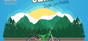 """Sağlıklı yaşam ve doğaya saygı için """"Yeşil Bisiklet Sağlık İçin Pedalla"""" projesi"""