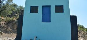 Demirci'de 3 içme suyu deposuna bakım