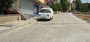 Mimarsinan mahallesinde parke yol çalışmaları tamamlandı