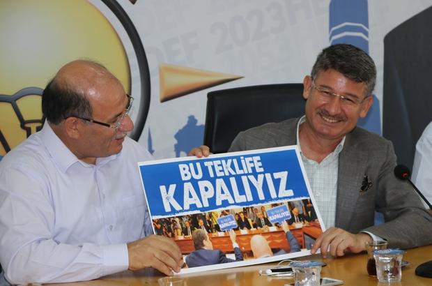 Memur-Sen heyeti zam için AK Parti Adana İl Başkanı Yeni'nin kapısını çaldı