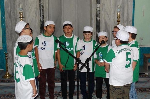 Kur'an bülbülleri Reşadiye Camii'nde buluştu
