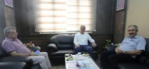 AYM Üyesi Dursun'dan Başkan Memiş'e ziyaret