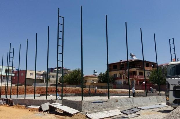 Nurdağı'nda gençler için spor kompleksi