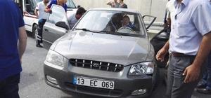 Tatvan'da trafik kazası: 2 yaralı