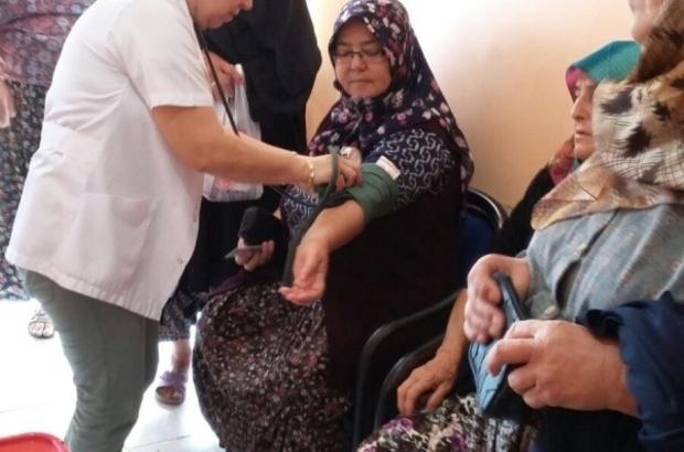 Köylerde, temel sağlık hizmeti mobil olarak veriliyor