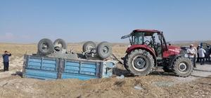 Günyüzü'nde traktör kazası, 1 yaralı