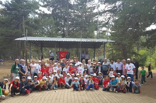 Başkan Yalçın, öğrencilerle piknik yaptı