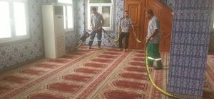 Mersin'de camilere bayram temizliği