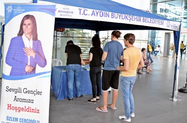 Başkan Çerçioğlu'ndan öğrencilere hoş geldiniz jesti