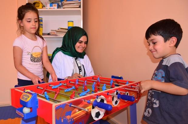 Tatvan'da engelli çocuklara yönelik kurslar açıldı