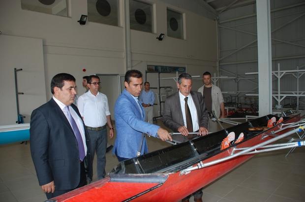 Vali Kalkancı Gazihan Dede Su Sporları Merkezini inceledi