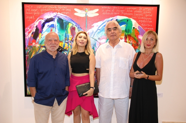 Ressam Ergin İnan'dan 50. yıl sergisi