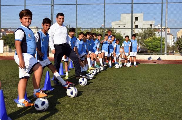 Kepez'de 4 bin öğrenciye spor eğitimi verildi