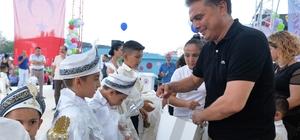Muratpaşa'da 470 çocuk erkekliğe ilk adımı attı