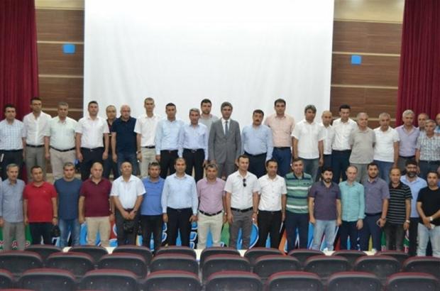 Demirci Mardin'de incelemelerde bulundu