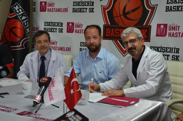 Eskişehir Basket Özel Ümit Hastanesi ile yoluna devam ediyor