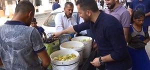 Silopi'de yerli incir satışları ilgi görüyor