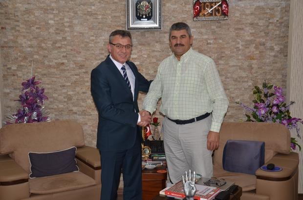 Türk Telekom İl Müdürü İlhan Aytekin'den Başkan Arayıt'a ziyaret