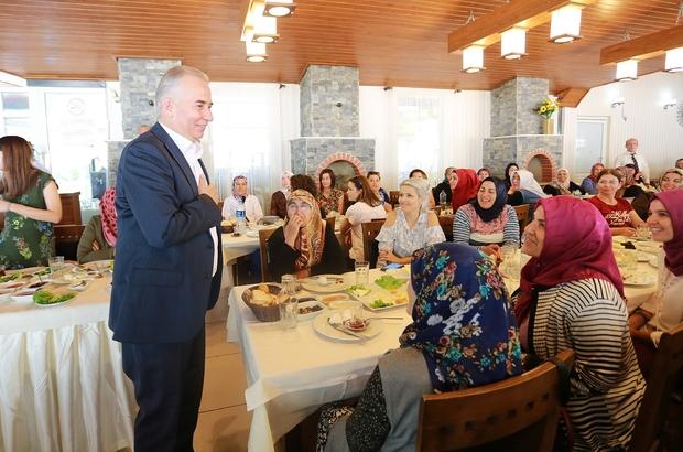 Başkan Zolan 'Benim Mahallem' projesini kadınlara anlattı