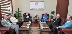 Tokyo Büyükelçisi Mercan, Vali Çakacak'ı makamında ziyaret etti