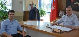Başsavcı Atbaş'tan Özkan'a ziyaret