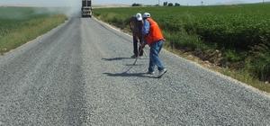 50 mahalleye 170 kilometre yeni asfalt
