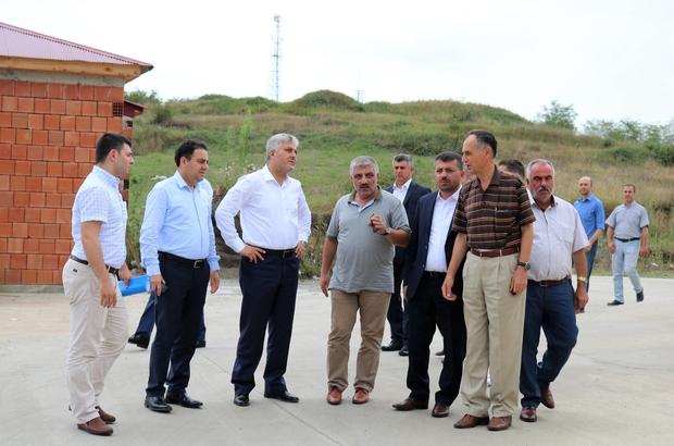 Başkan Türkmen AK Parti Milletvekili Günnar ile Şinik OSB'yi gezdi