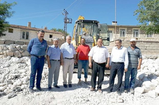 Kurugöl Köyü alt yapı çalışmaları tamamlandı