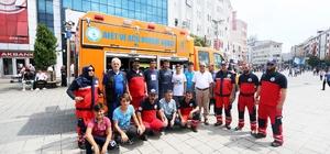 Bir günde 600 afet gönüllüsü