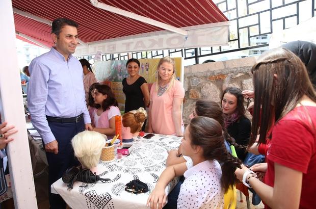 Yaz tatilini değerlendiren öğrenciler hünerlerini sergiledi