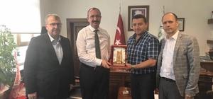 Başkan Bakıcı ve Milletvekili Eldemir'den DSİ Bölge Müdürü Gül'e ziyaret