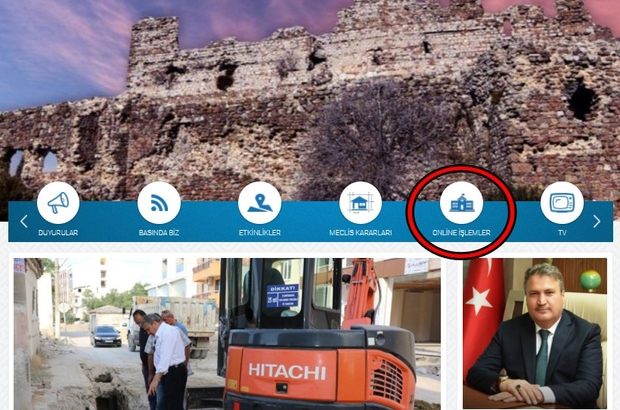 Yunusemre Belediyesinden e-Belediye hizmeti